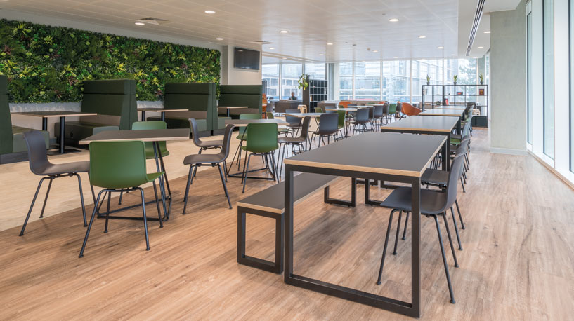 Office Canteen Seating - Frontier