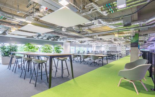 Office Desking - Plexal