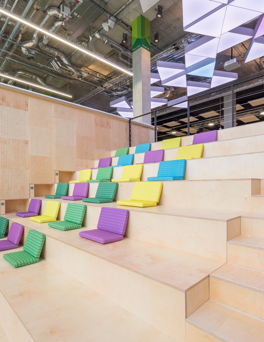 Creative Office Interior - Plexal