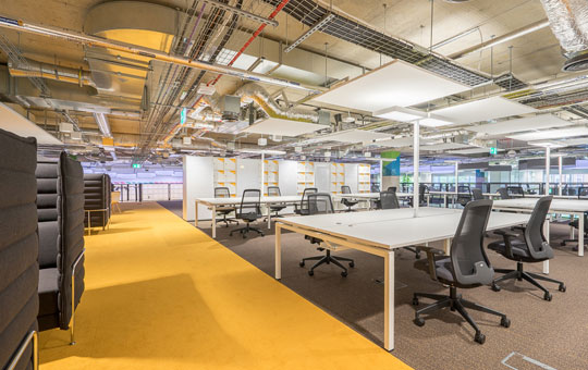 Office Reception Furniture - Plexal