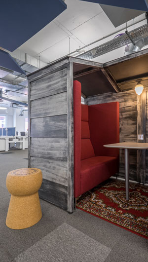 Breakout Room Furniture - Schibsted