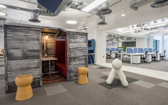Breakout Office Furniture - Schibsted